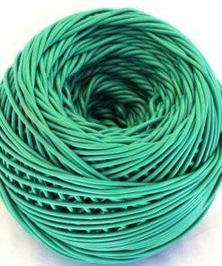 Ovillo plástico verde-69