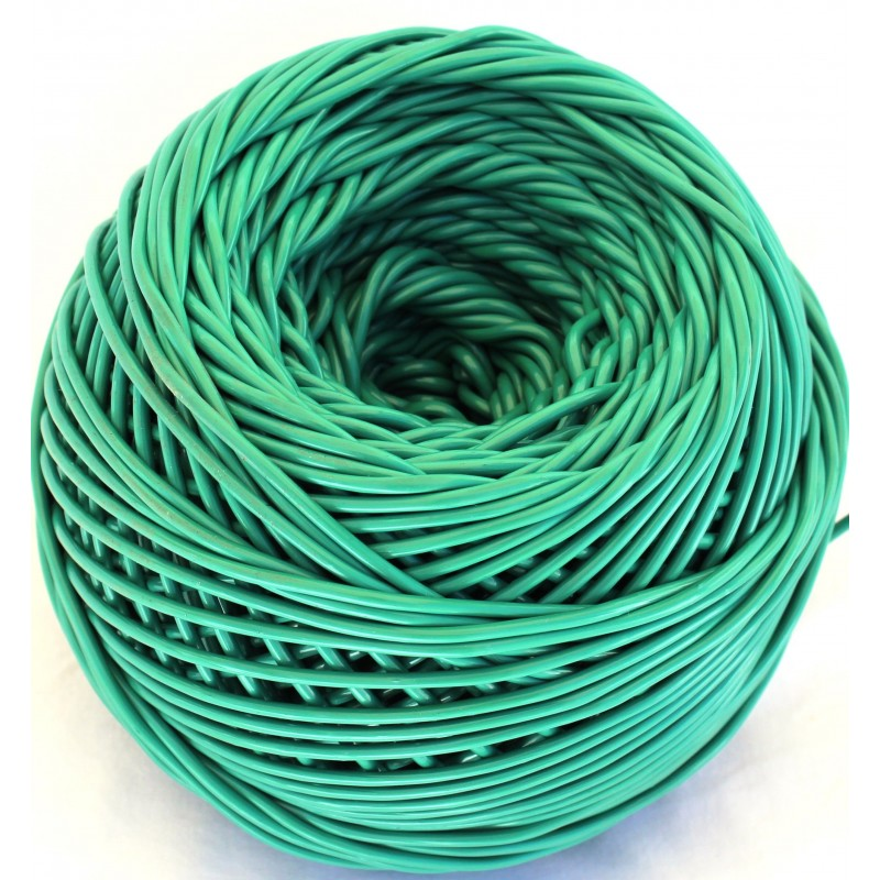 Comprar ovillo de pl stico verde para jard n y huerto - Materiales de jardineria ...